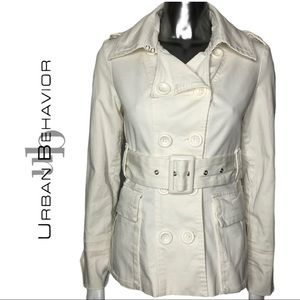 Urban Behaviour Double Breasted Lined Jacket